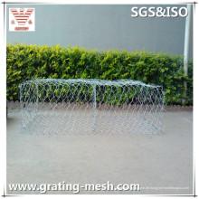 Galvanisierte Gabion-Masche / Metall Gabion / gewebte Gabion