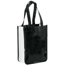 Laminated Non-Woven Shopper Tote Bag for Shopping Promotion and Gift Use