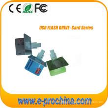 Drive USB personalizado com o seu logotipo ambos os lados para amostra grátis