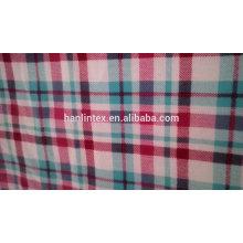 Tecido inteiro da flanela do algodão da venda no estoque