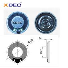 Receptor de auriculares 32mm 32ohm 10mW