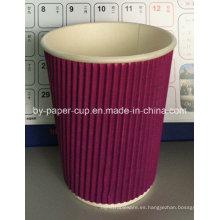 Especificación personalizada de tazas de papel para el café