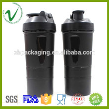 PP OEM design round water plastic joyshaker bottle with food grade