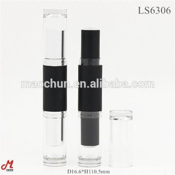 Doppelseitiger Kopf Lippenstift Rohrbehälter