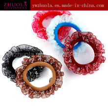 Elastic Hair Bands with Lace for Women