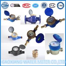 Brass Multi Jet Rotary Vane Water Flow Meter Lxsg15-50
