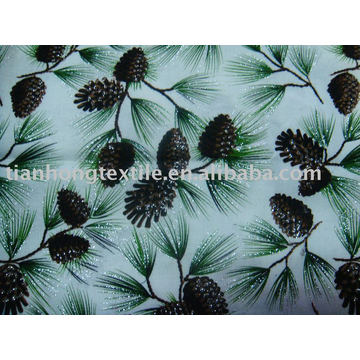 100% Printed Plain Cotton Fabric Flower Print