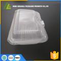 Einweg-Behälter aus durchsichtigem Kunststoff