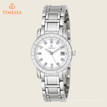 Women′s Diamond-Accented Stainless Steel Watch 71192