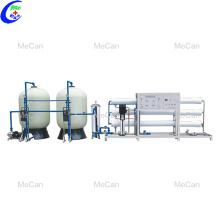 Tratamento de água industrial do gerador de ozônio da planta do RO