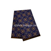 Blue african wax prints fabric