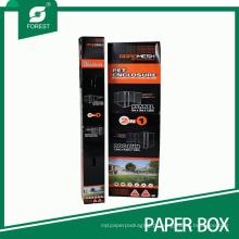 Caixa de empacotamento do papel ondulado ajustado do cerco do animal de estimação do grande tamanho durável