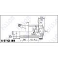 Серво мотор литьевая машина 120t Привет Sv120