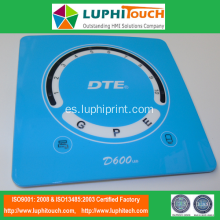 DTE Ultrasonic Scaler In-Mold Decoration IMD Panel de plástico