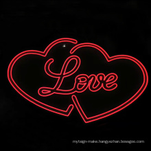 Signage manufacturers giant led  flex love neon sign light letters for wedding outdoor