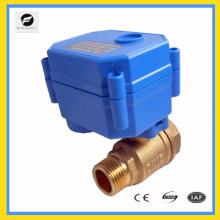 Equipo de agua, sistema de agua de control automático Válvula de bola eléctrica CXW-15N / Q para sistema de riego de la familia