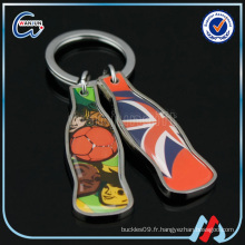 TCCC audit factory direct wholesale football match keyring imprimer
