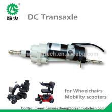 Transzaxle de 24V DC con motor para scooter eléctrico