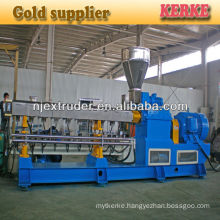 Wood plastic granules making machine