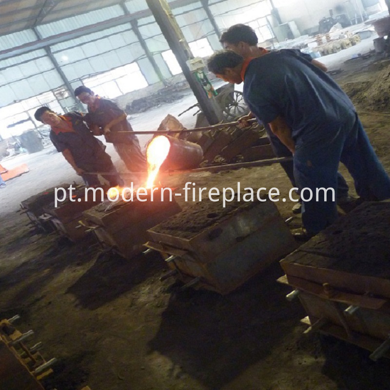 Wood Stove Burner Production