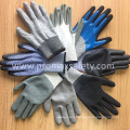13G Knitted Cut Resistant Gloves with Grey Foam Nitrile Palm Coated