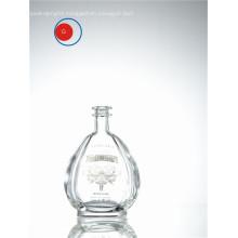 Reposado Glass Round Shape Bottle