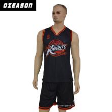 Uniforme de basket-ball personnalisé par sublimation d'équipe