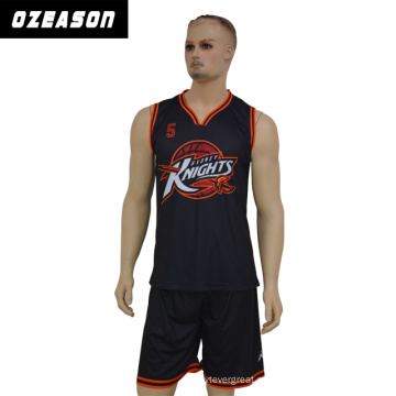 Подгонянная Команда Сублимации Баскетбол Униформа