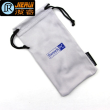 Soft Packing Sunglasses and Mobile Phone Print Microfiber Pouch