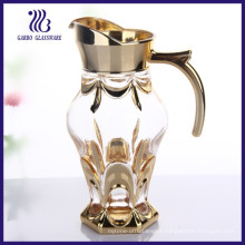 1.3L MID-East Style Golden Handle Glass Jug (GB1112CL)