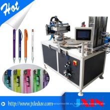 Máquina de impresión giratoria de la pantalla de seda giratoria automática del carrusel para la maquinaria más ligera que hace