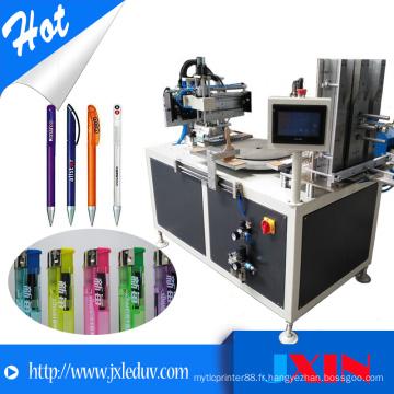 Machine automatique automatique d'impression sérigraphie carrousel à carrousel automatique pour machines à fabriquer des briquets