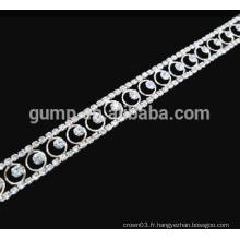 Coupe de cristal coupe de strass en strass pour accessoires