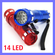 14 LED UV Nail Lamp Urine Finder Money Checker Black Light Flashlight (LED-14)