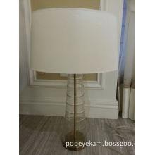 Home Use Contemporary Transparent Brass Glass Table Light (JT13025/00/001)