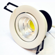 Super helle warme weiße LED-Scheinwerfer LED Downlight 1000 Lumen