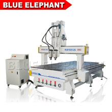 Pas cher et de bonne qualité utilisé cnc sculpture sur bois machine pour aluminium bois acrylique pvc mdf