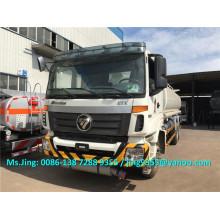 Venta caliente Foton Auman 20000 litros pesados camiones cisterna de aceite / camiones de entrega de petróleo exportados a Turkmenistán