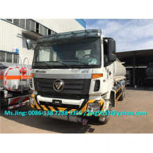 Venda quente Foton Auman 20000 litros pesados caminhão tanque de petróleo / caminhões de entrega de petróleo exportados para o Turcomenistão