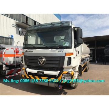 Heißer Verkauf Foton Auman 20000 Liter Schwerlast Öltank LKW / Öl Lieferwagen exportiert nach Turkmenistan