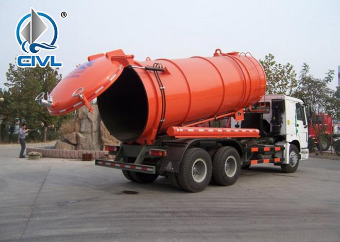 6x4 Sewage Suction Truck 7