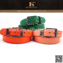 Nuevo Stytle genuino cinturones de cuero sin hebilla