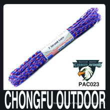 2015 nuevos productos coloreados 550 pulsera paracord