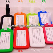 Hottest!!! pvc luggage tag for 2014