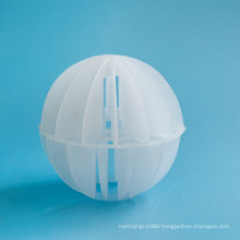 Plastic Suspended ball in chemical wet-scrubber