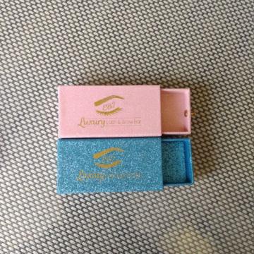 Custom made cardboard paper eyelash box