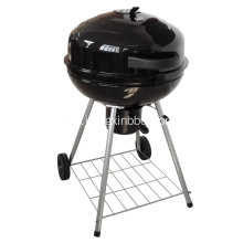 22,5 tums Kettle Glossy Porslin Charcoal Grill