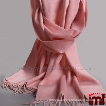 Feeling Lady Long Plain Color Wool Pashmina Scarf