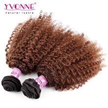 Два Тона Цвета Ломбер Бразильского Волос