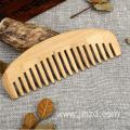 Hair care massage bamboo wide tooth comb